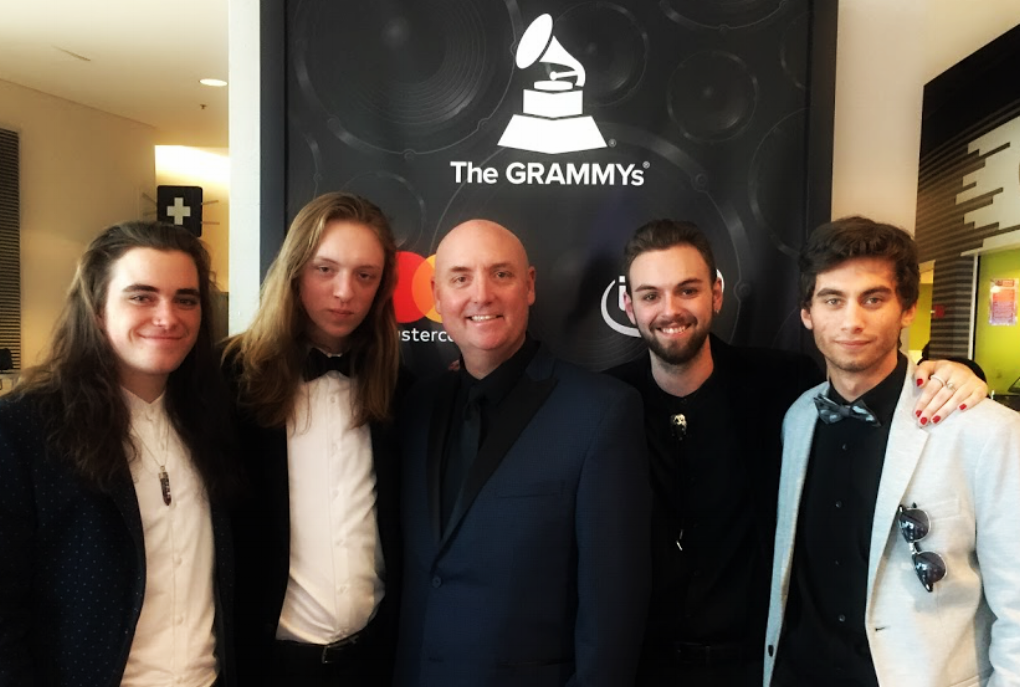 2017 Grammy Awards (shown with The Usual Haunts)