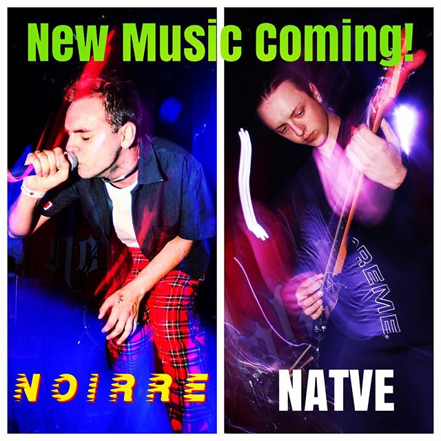 Dope new tracks and album from @noirreofficial ➕ a killer new EP from @cjcaffrey (aka NATVE) ➖ dropping this Fall 💥