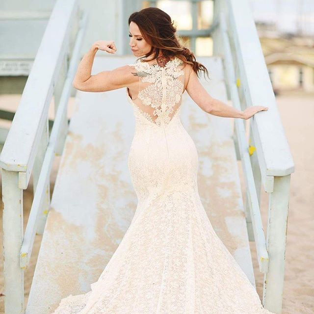 Trizza & Andrew | Hermosa Beach Wedding    PC: Melody White Studios