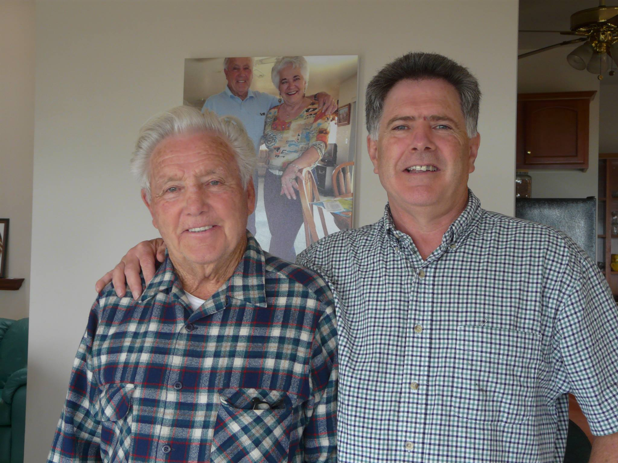 Pat Quinn, founder, and his son, Mike Quinn, the current owner