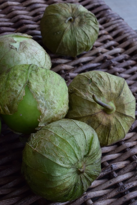 149 K A Tomatillos Why are they so sticky!.JPG