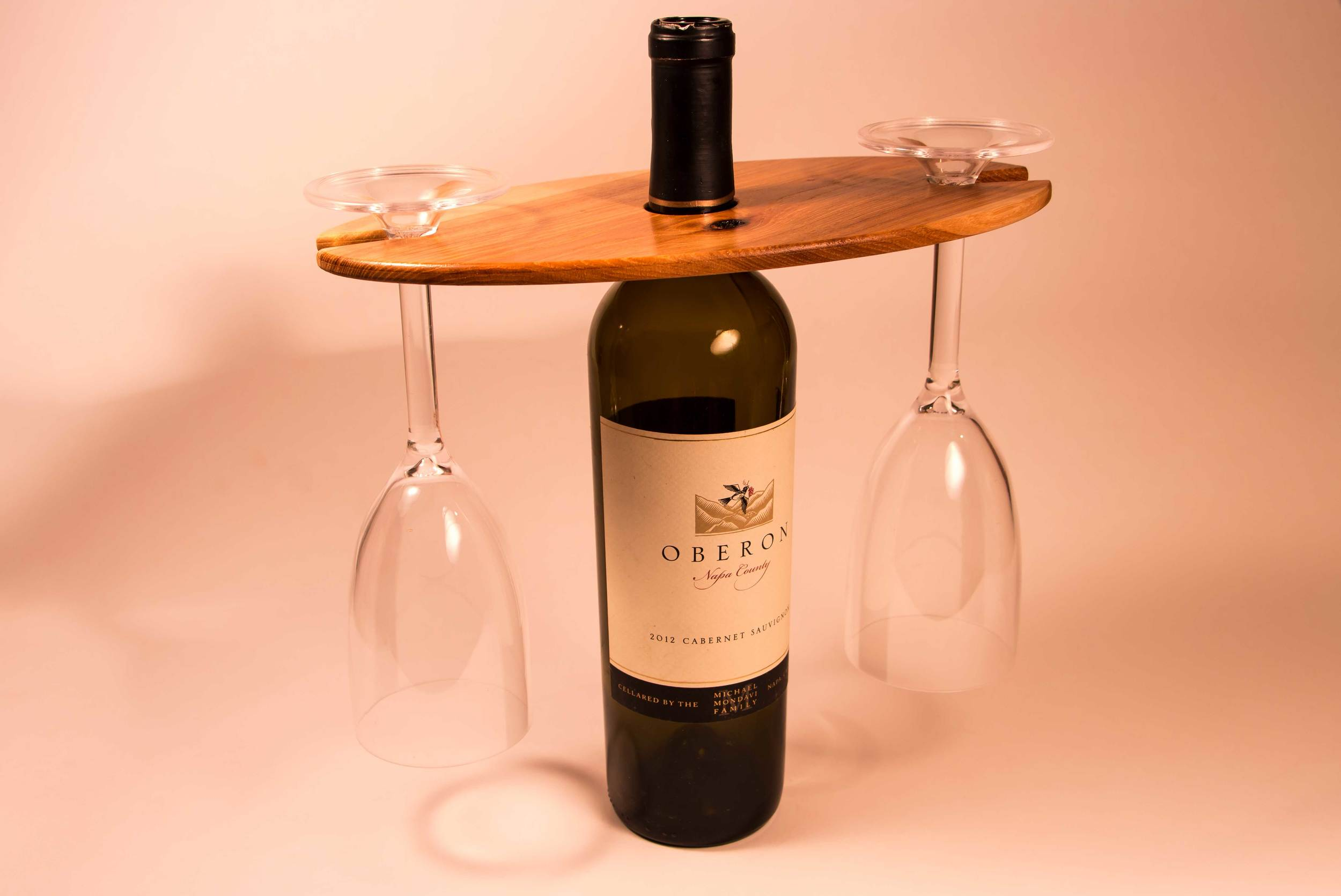 Wine Display on bottle
