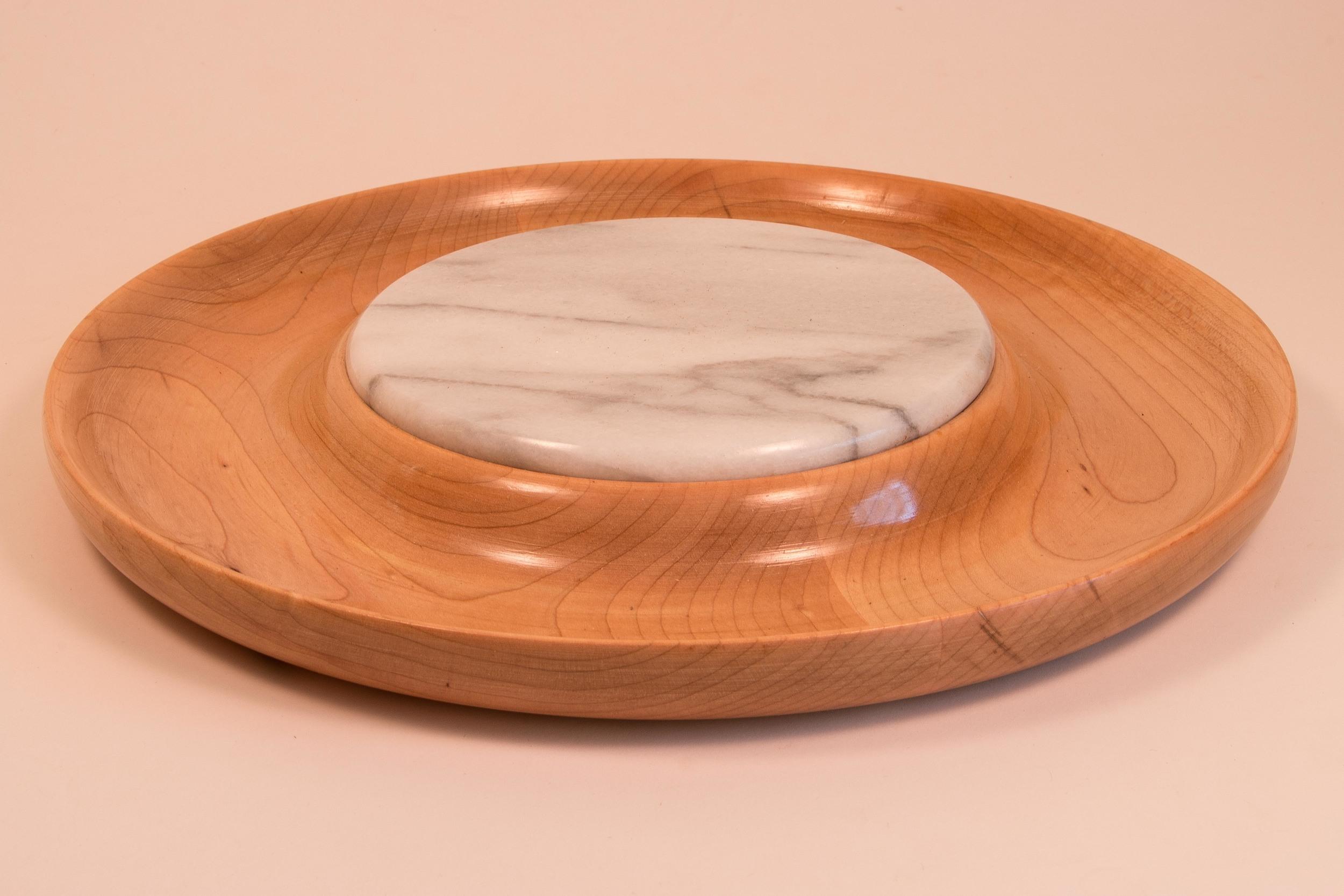 Round Cheese platter