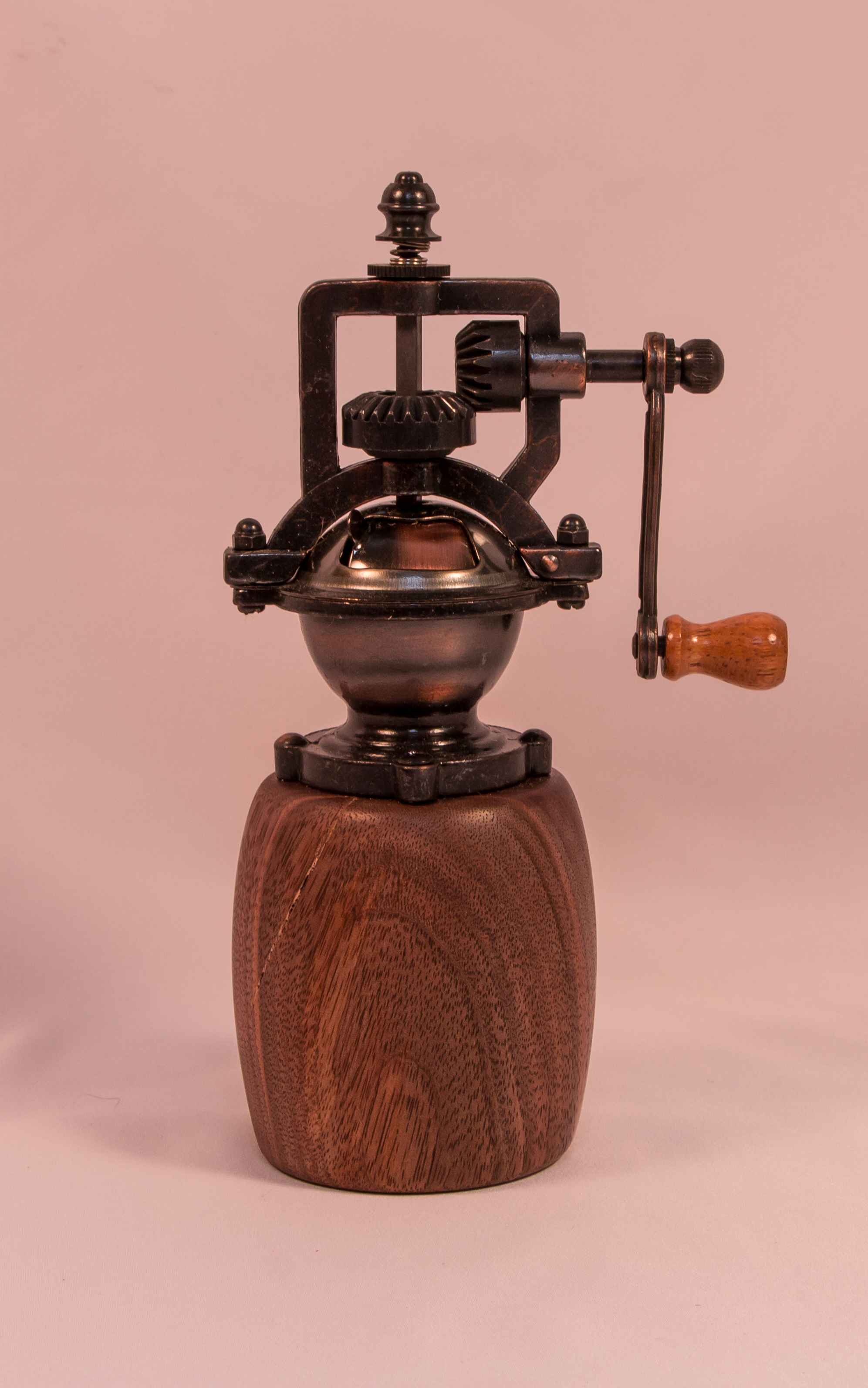 Small Antique Pepper Grinder