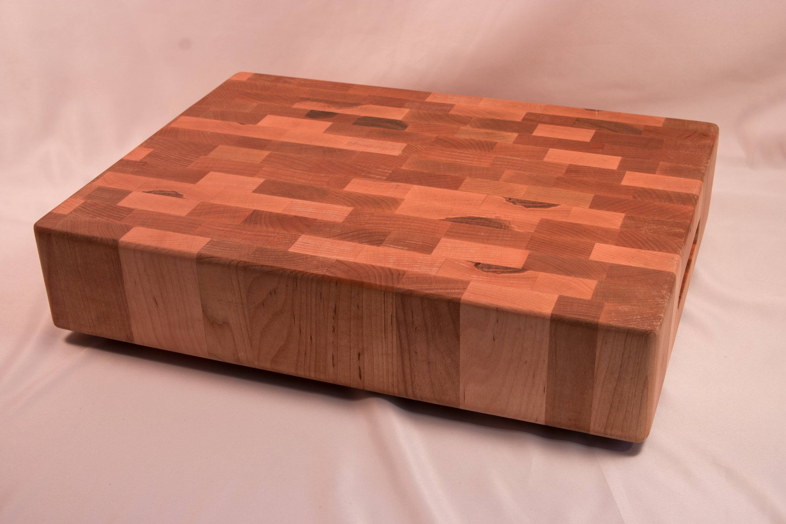 Thick End Grain Cutting Board