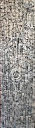 John Anderson, Untitled, 1959, acrylic/wood