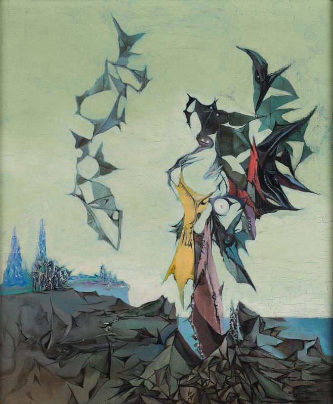 Voyage Totemique (Paysage Totemique), 1937