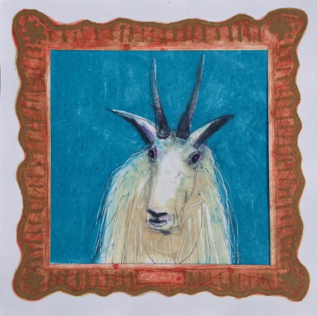 Family Portrait-Goat