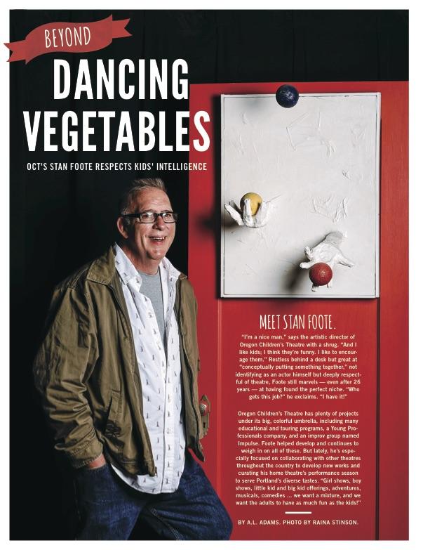 Stan Foote, artistic director, Oregon Children's Theater