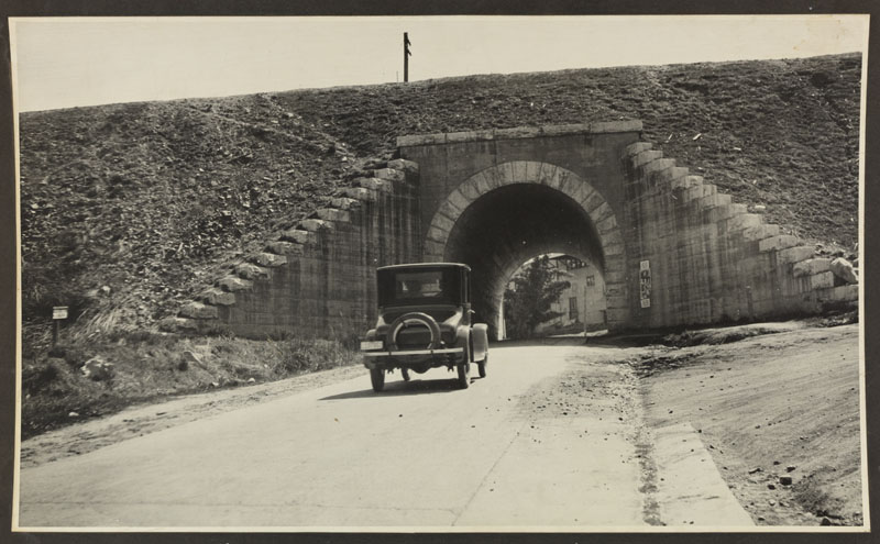 1920's Newcastle Auto Subway, headed west.