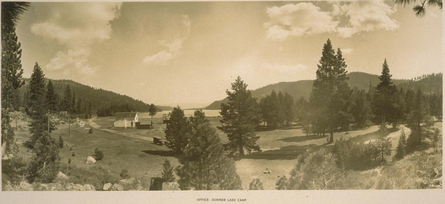 Click photo for larger view. Title: Office Donner Lake Camp