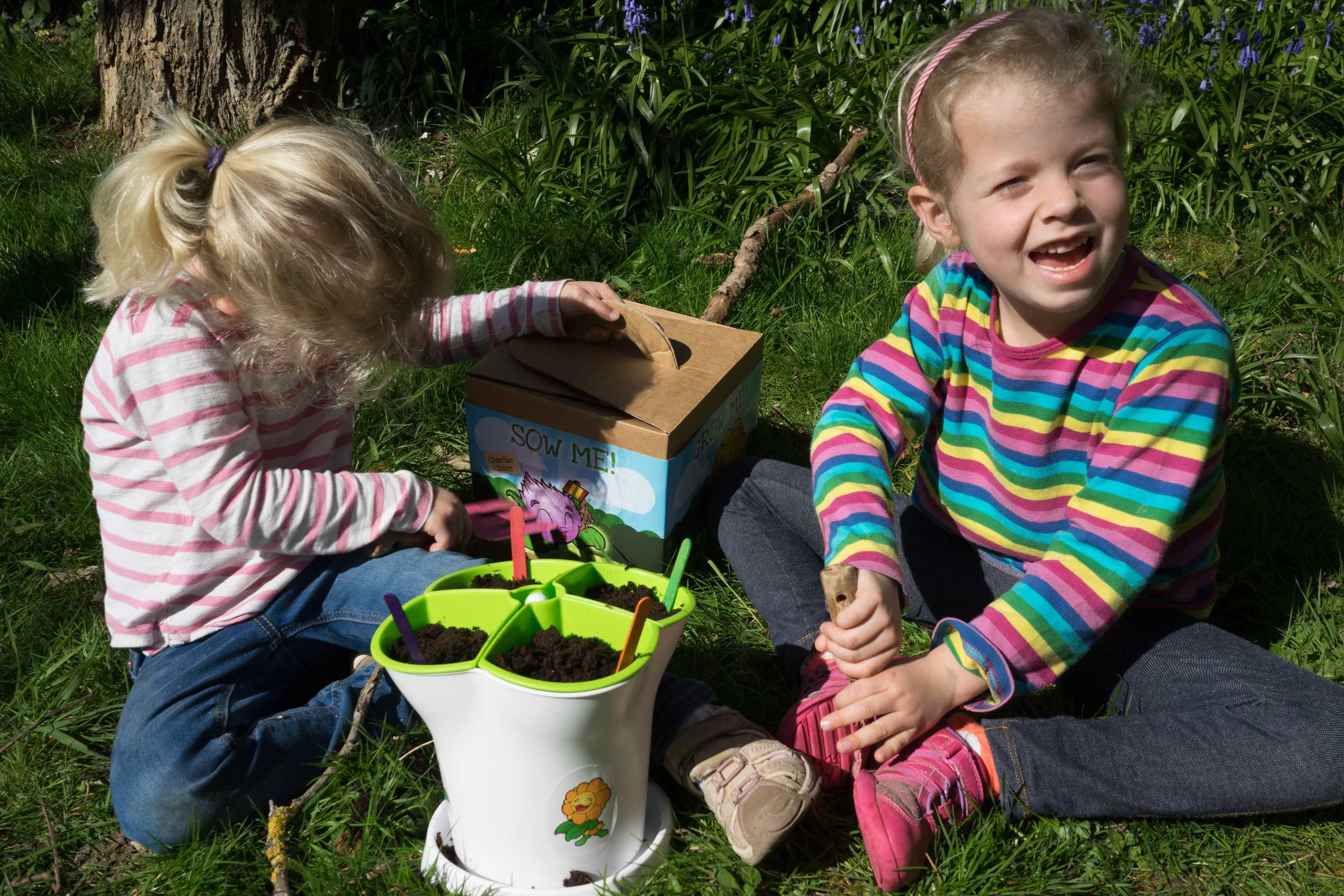 Grow-your-own herbkit for kids -Handy Herbs    Given to us to review.