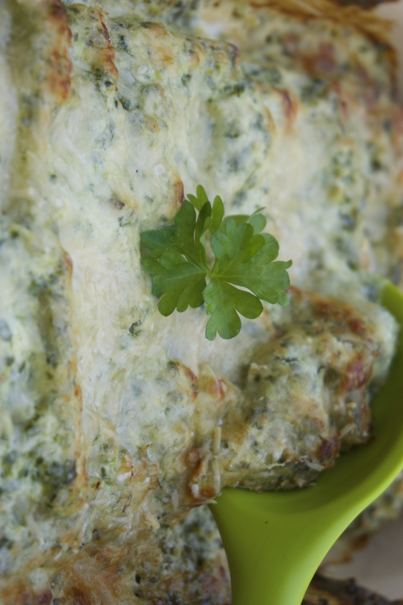 Creamy Trout Cannelloni to make with a toddler