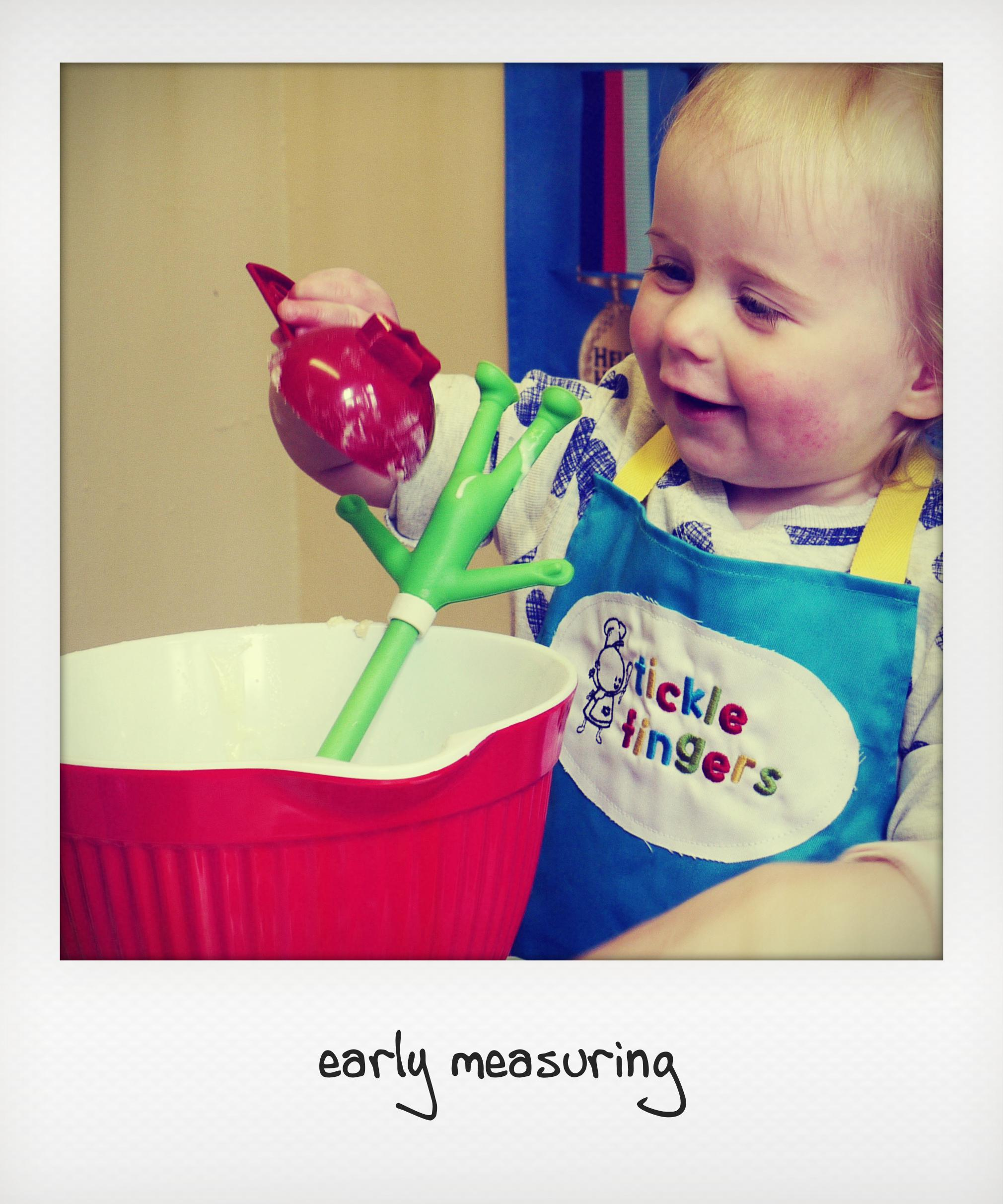 early measuring - copyright annabel woolmer