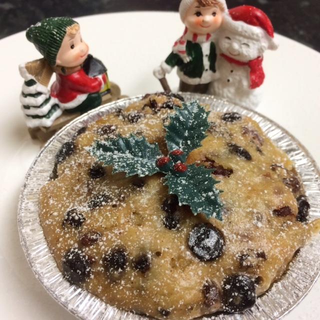 Mini Light Christmas Pudding - Tickle Fingers
