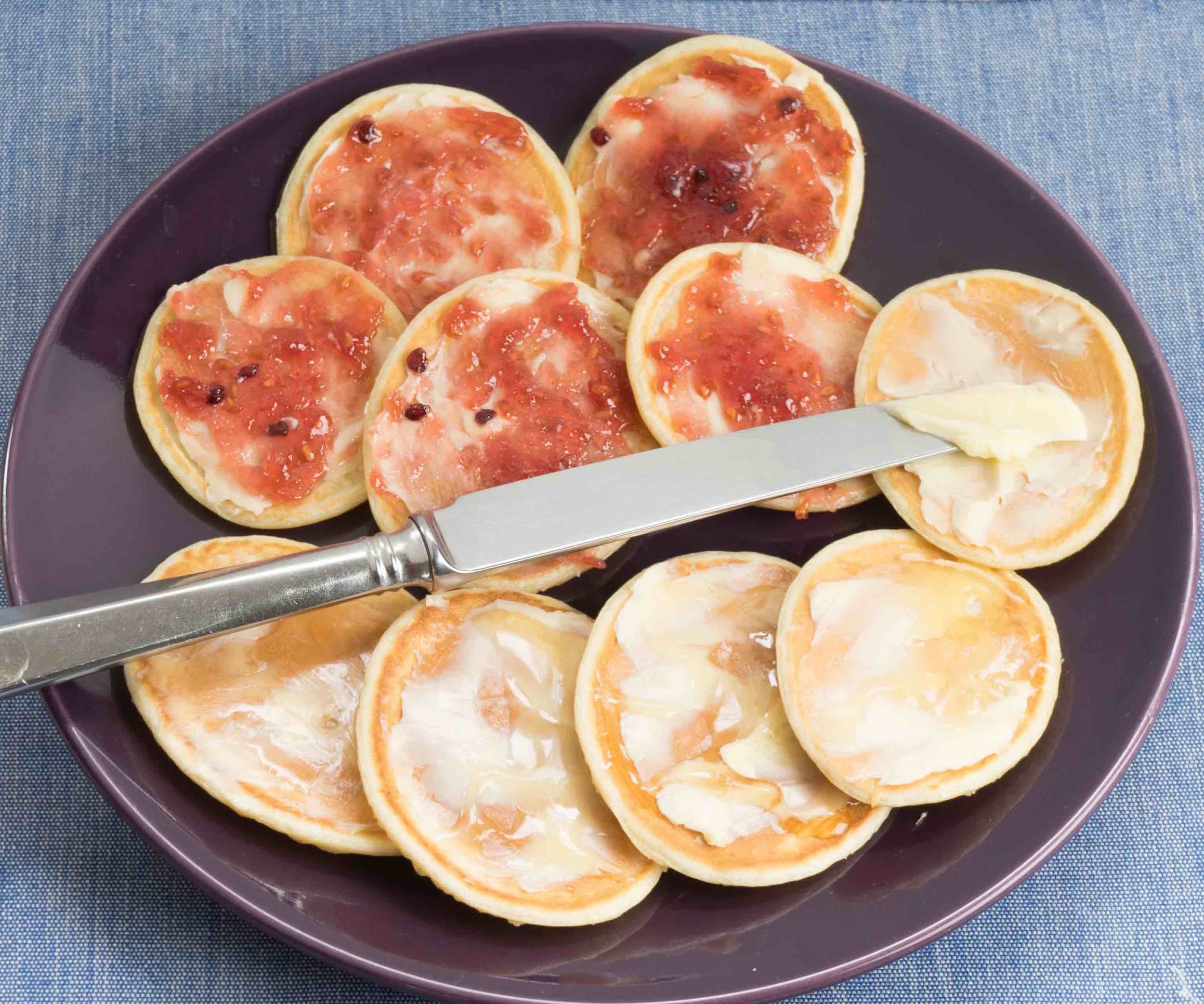 Scotch Pancakes - Tickle fingers