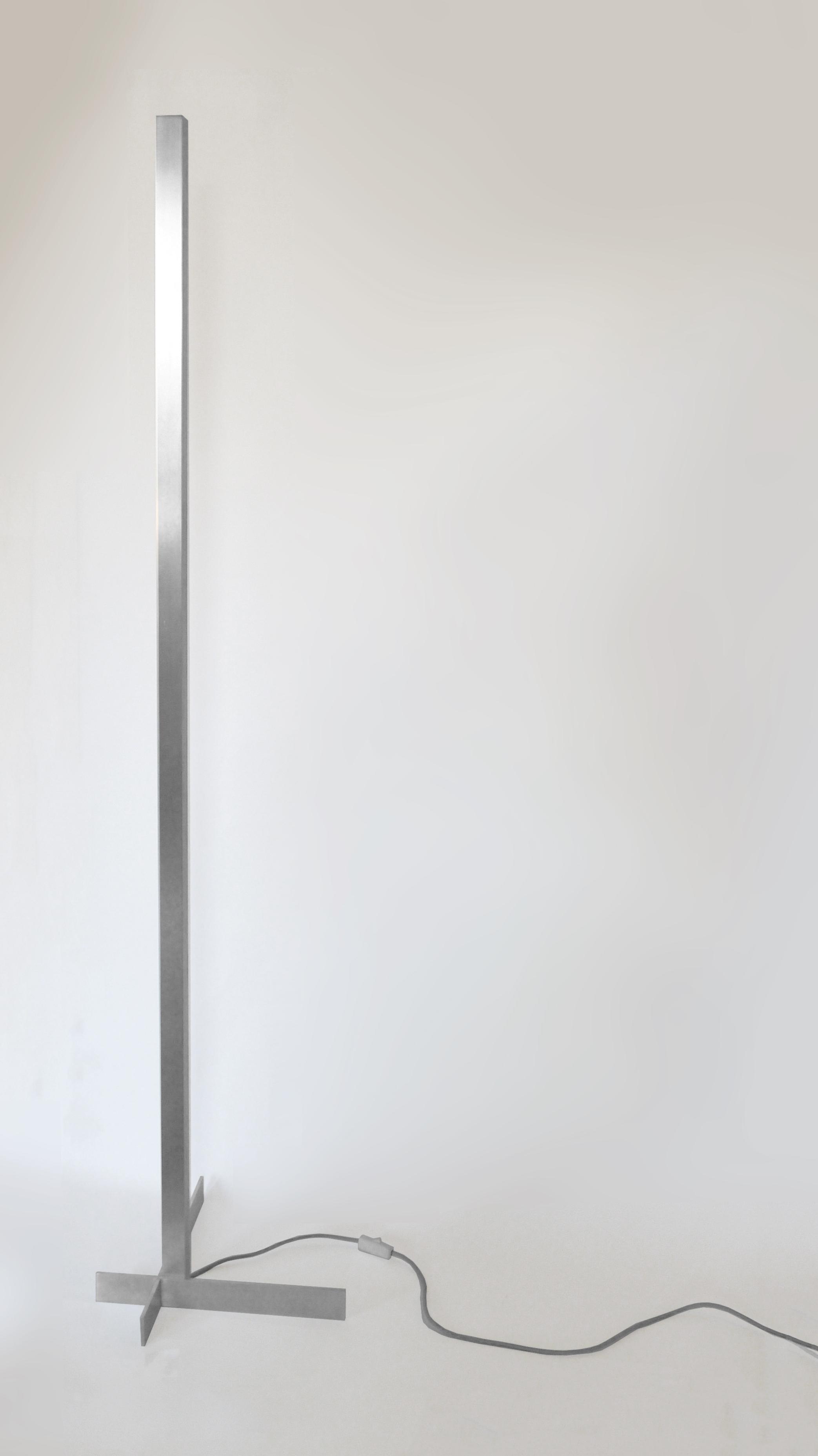 Lamp 1 - welded aluminum