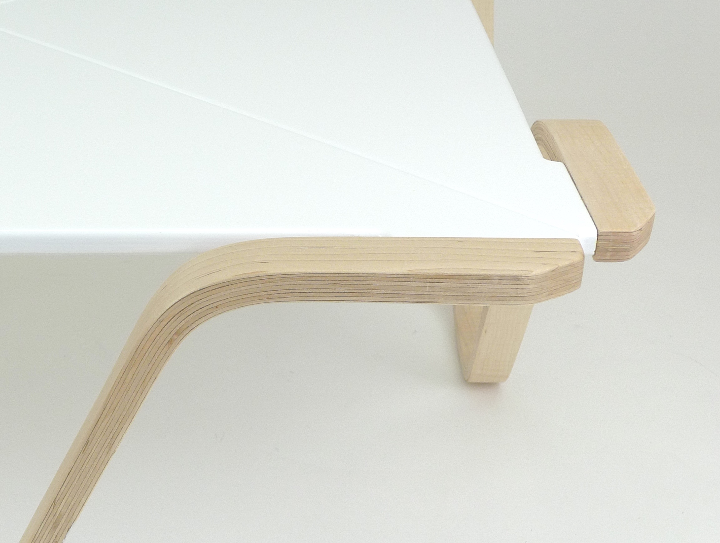 Bent lamination coffee table: no. 2