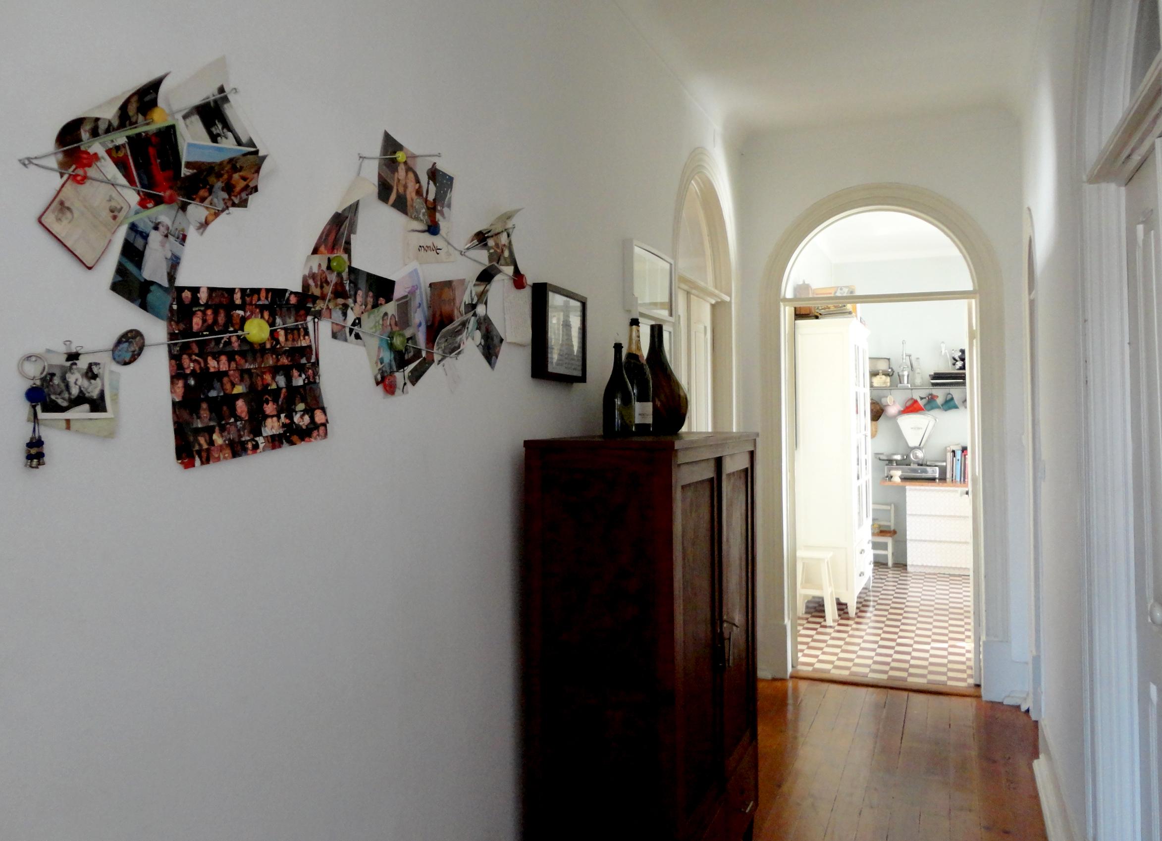 uma casa com muitos momentos ao olho de quem a visita.