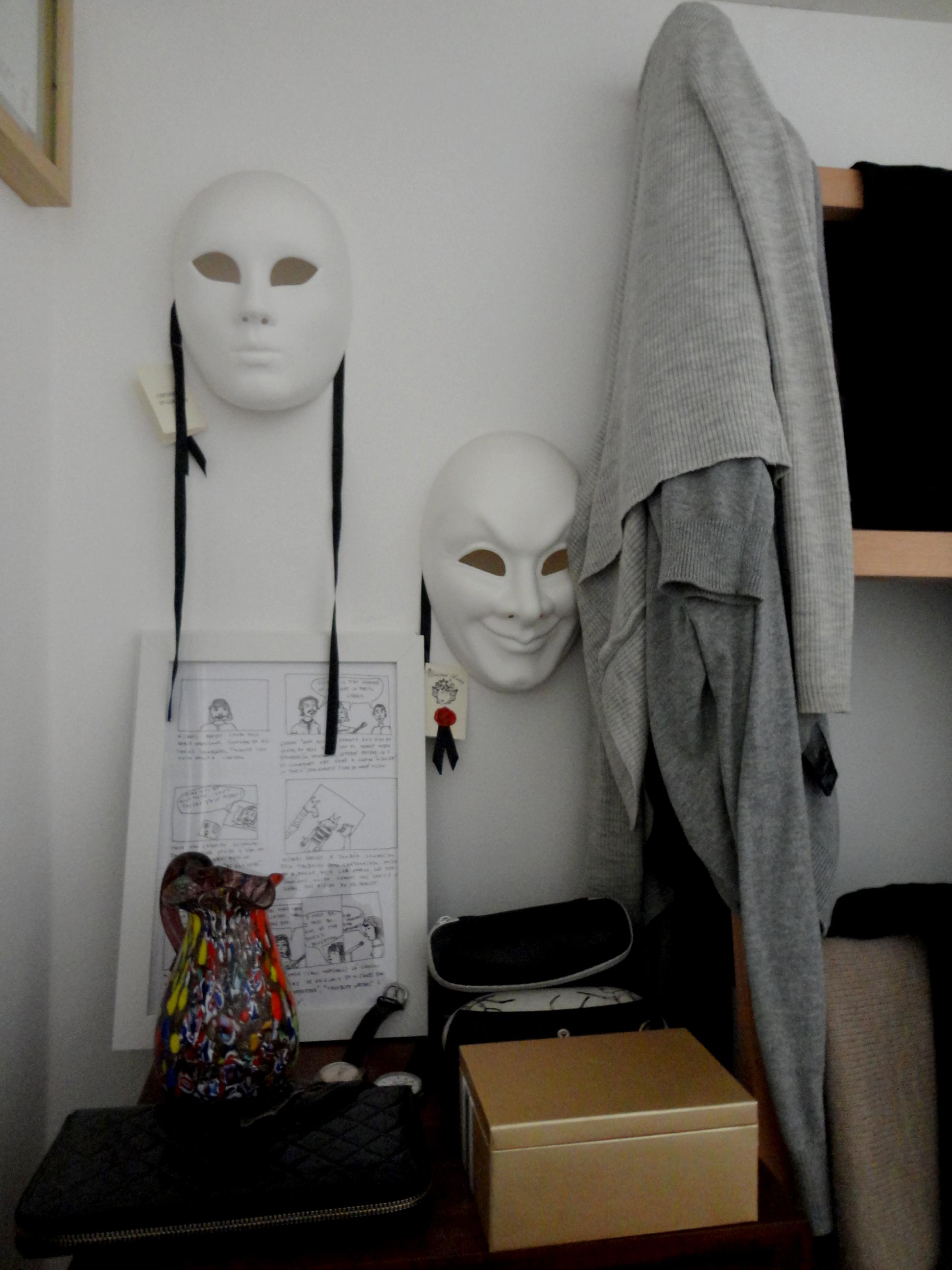 as máscaras de Veneza.