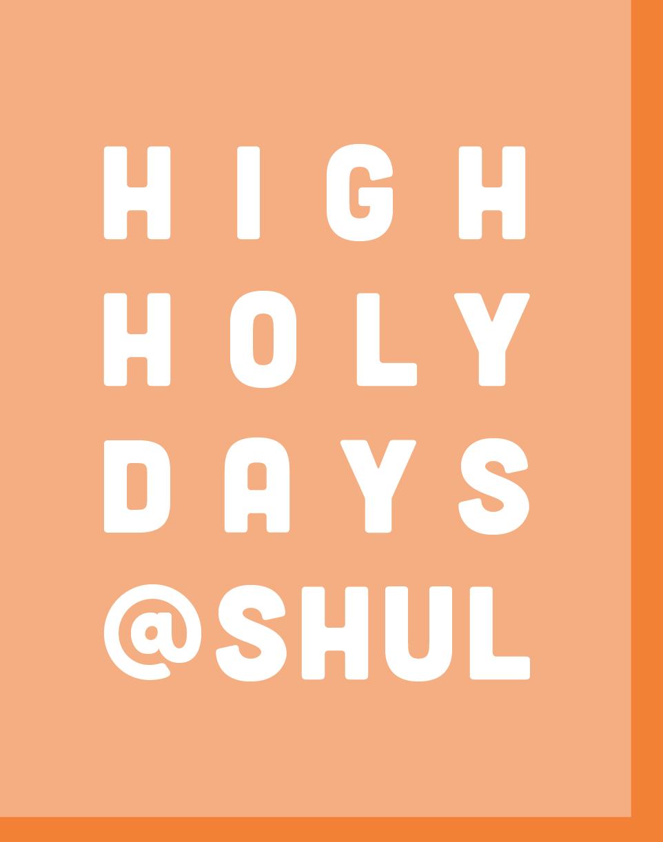 HighHolyDays
