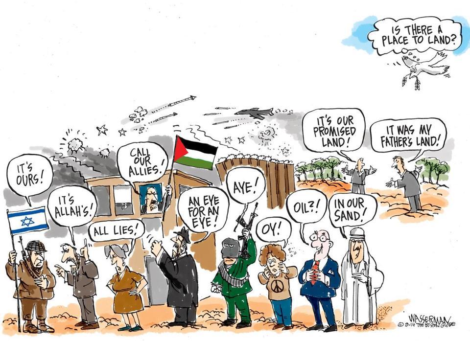 Cartoon by Dan Wasserman for the Boston Globe