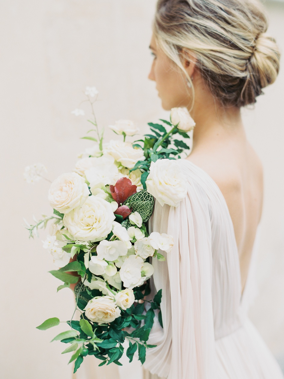 jessica-zimmerman-events-floral-event-design-coordination-planning-wedding-paper-invitations-sensual-bridal-portratis-paris-france-weddings-by-christopher-nancy-photography-neutral-silk-ribbon-organic-bouquet-conway-arkansas