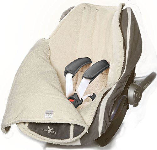 A -  Backed Car seat covers are Not Safe for Use in car seats. Only for use in stroller seats.