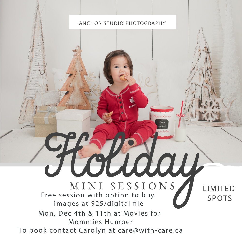 Movies for Mommies Holiday Photos 2017