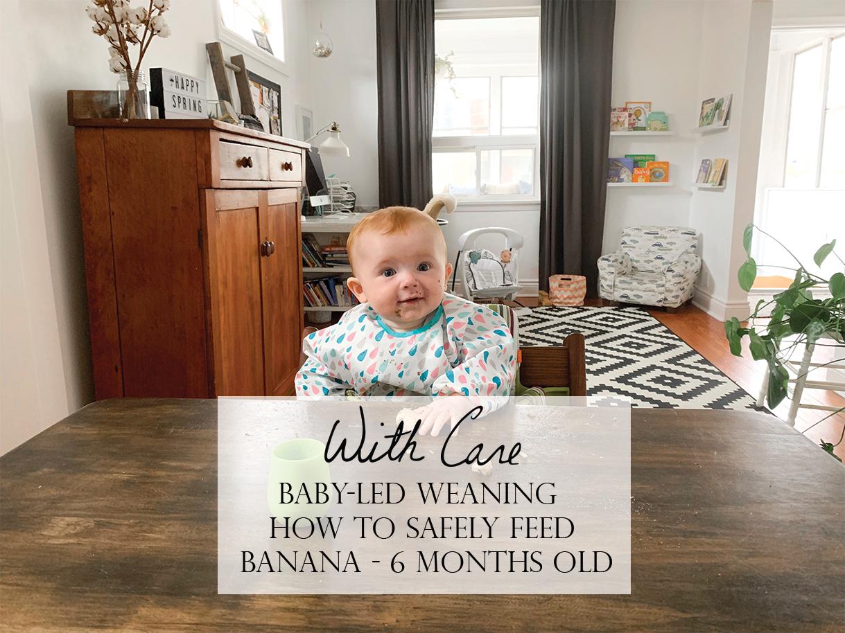 BLW Banana