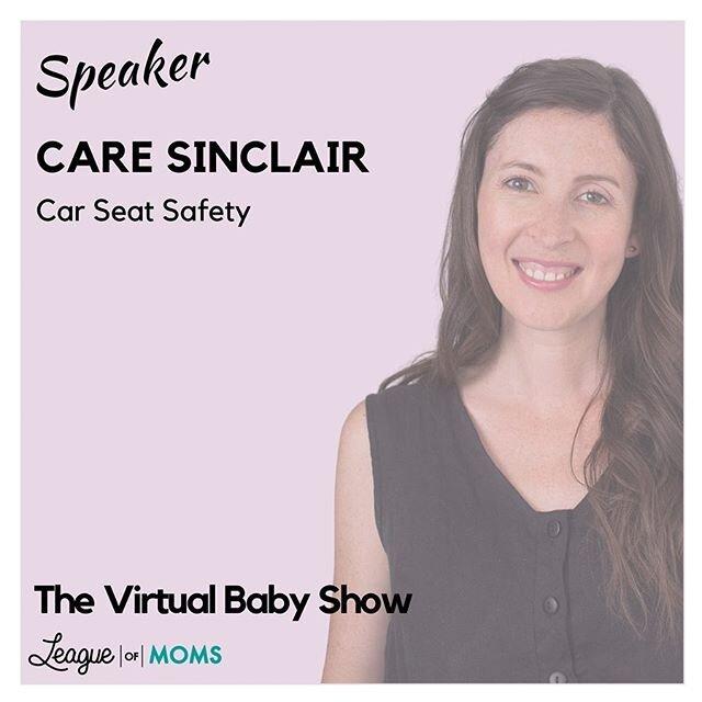 明天应该是美好的一天,但当你需要从流行上休息一下,看看第一个加拿大范围的虚拟婴儿秀!它是免费的,所以没有理由不去。I'将在中午12点与大家讨论汽车安全座椅,在我演讲期间发表评论的人将有机会赢得一个@clekinc Liing汽车安全座椅,价值499美元!!刷一下看看。在展会上,您可以享受专家演讲,一个虚拟市场,赠品,和一个虚拟的礼品袋!点击bio中的链接进行注册。你不会想错过的