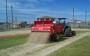 Topdress to improve rye seed germination