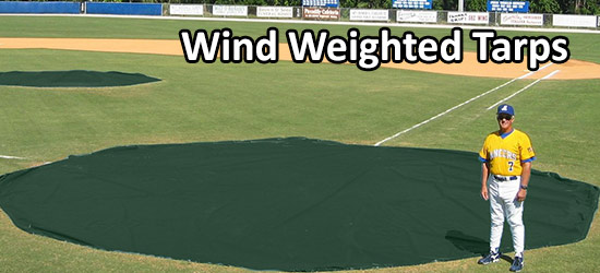 Wind weighted tarps by aer-flo. tmc is an aer-flo distributor in texas