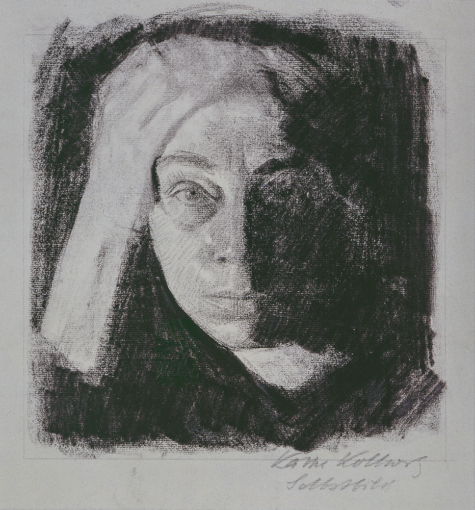 3. Käthe Kollwitz, Frontal Self-Portrait_0.jpg