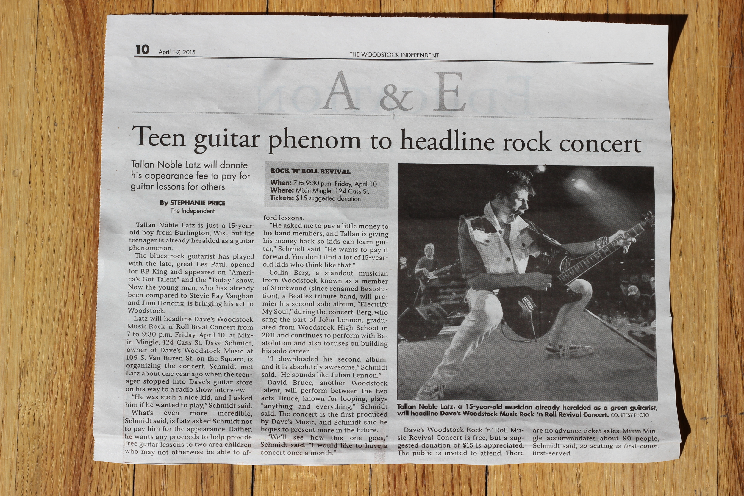 Click here  to visit The Woodstock Independent for the online version of this article.