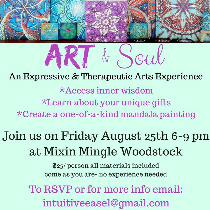 Art & Soul - Aug 25th 6-9pm