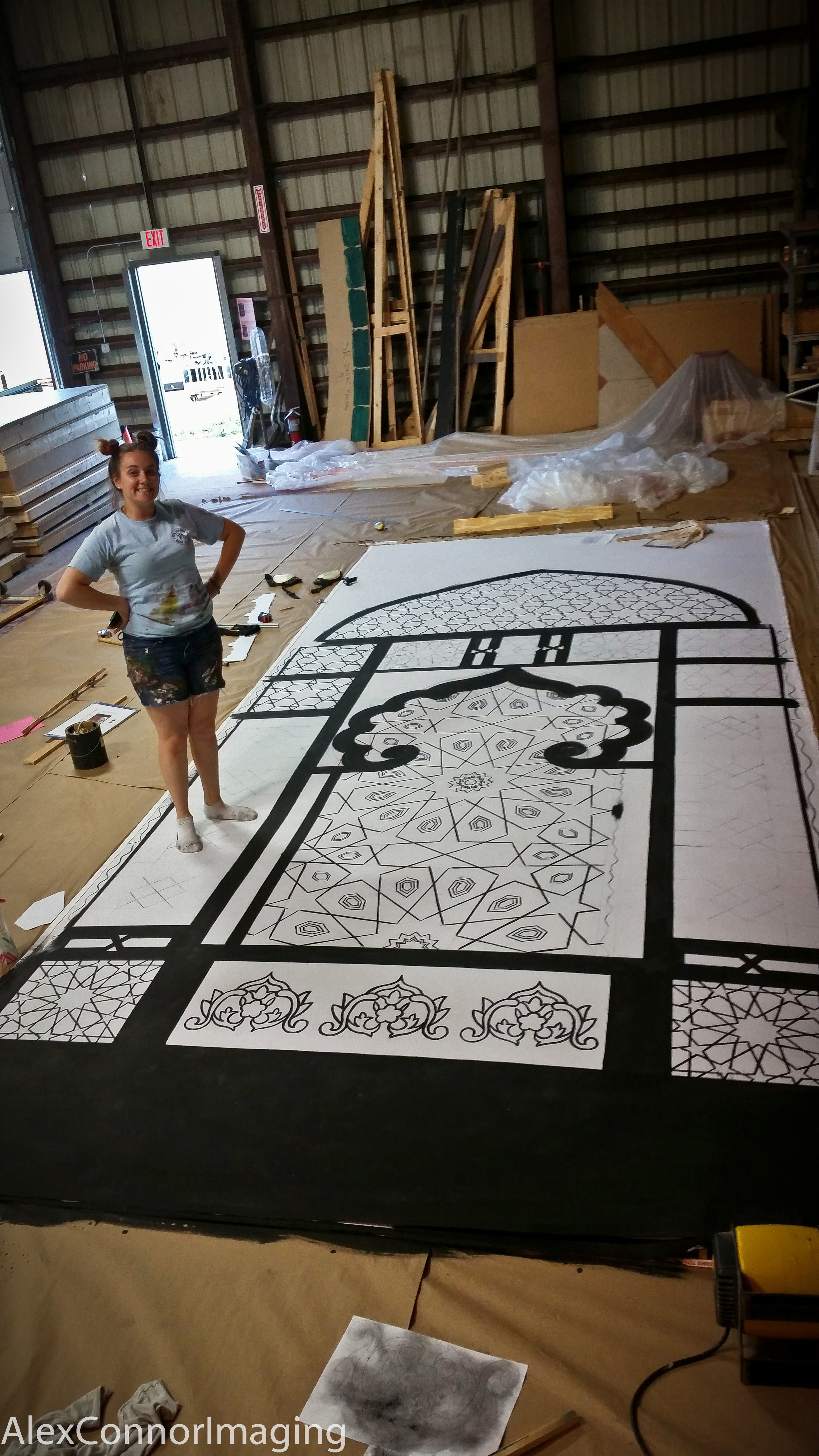 In Process Stained Glass