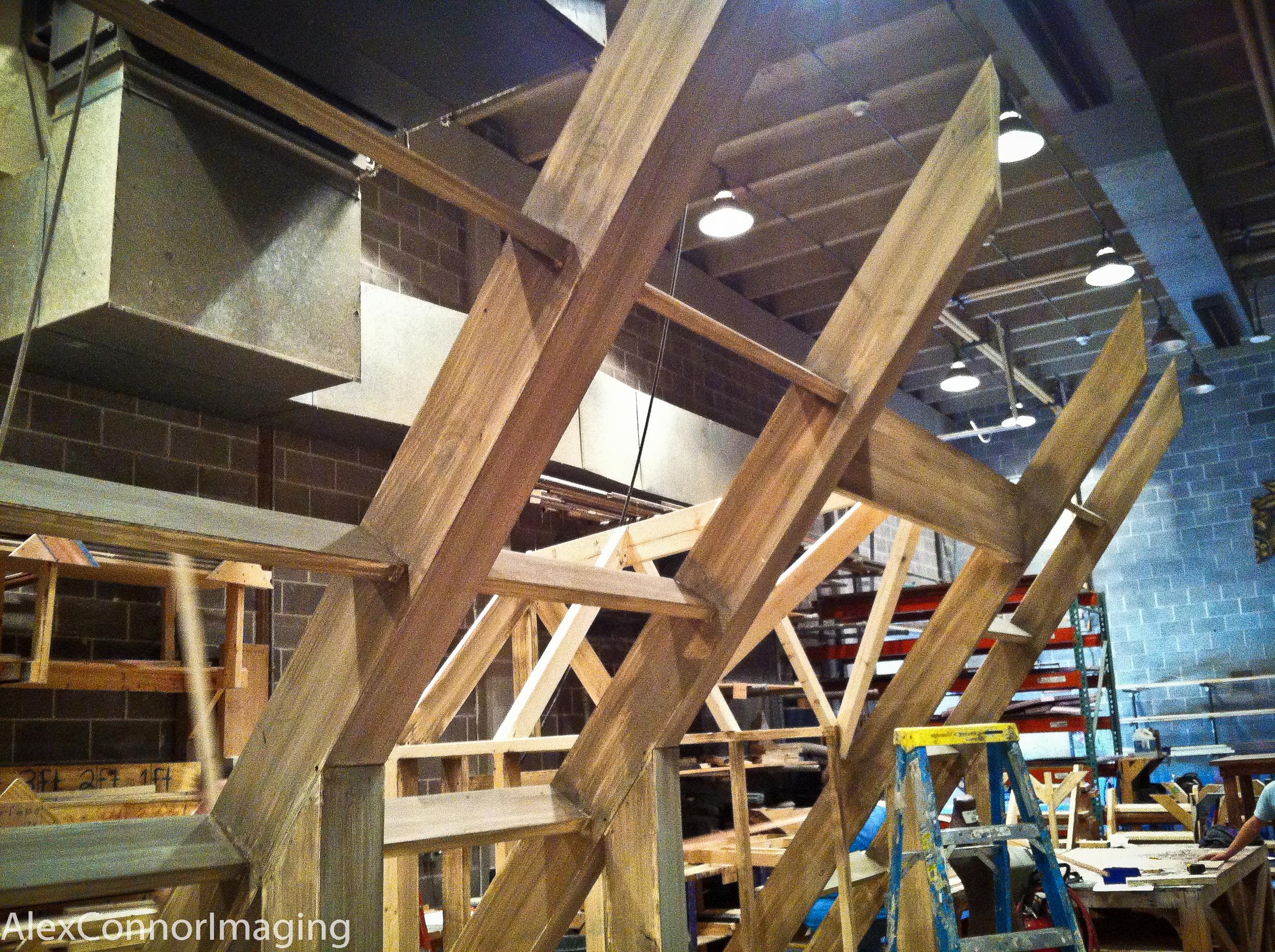First step wood grain