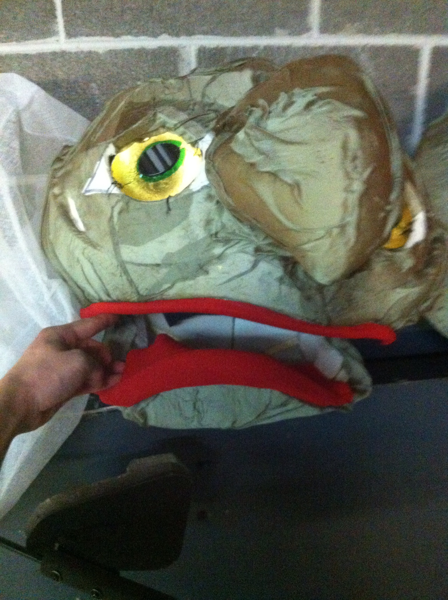 In Process Puppet Face