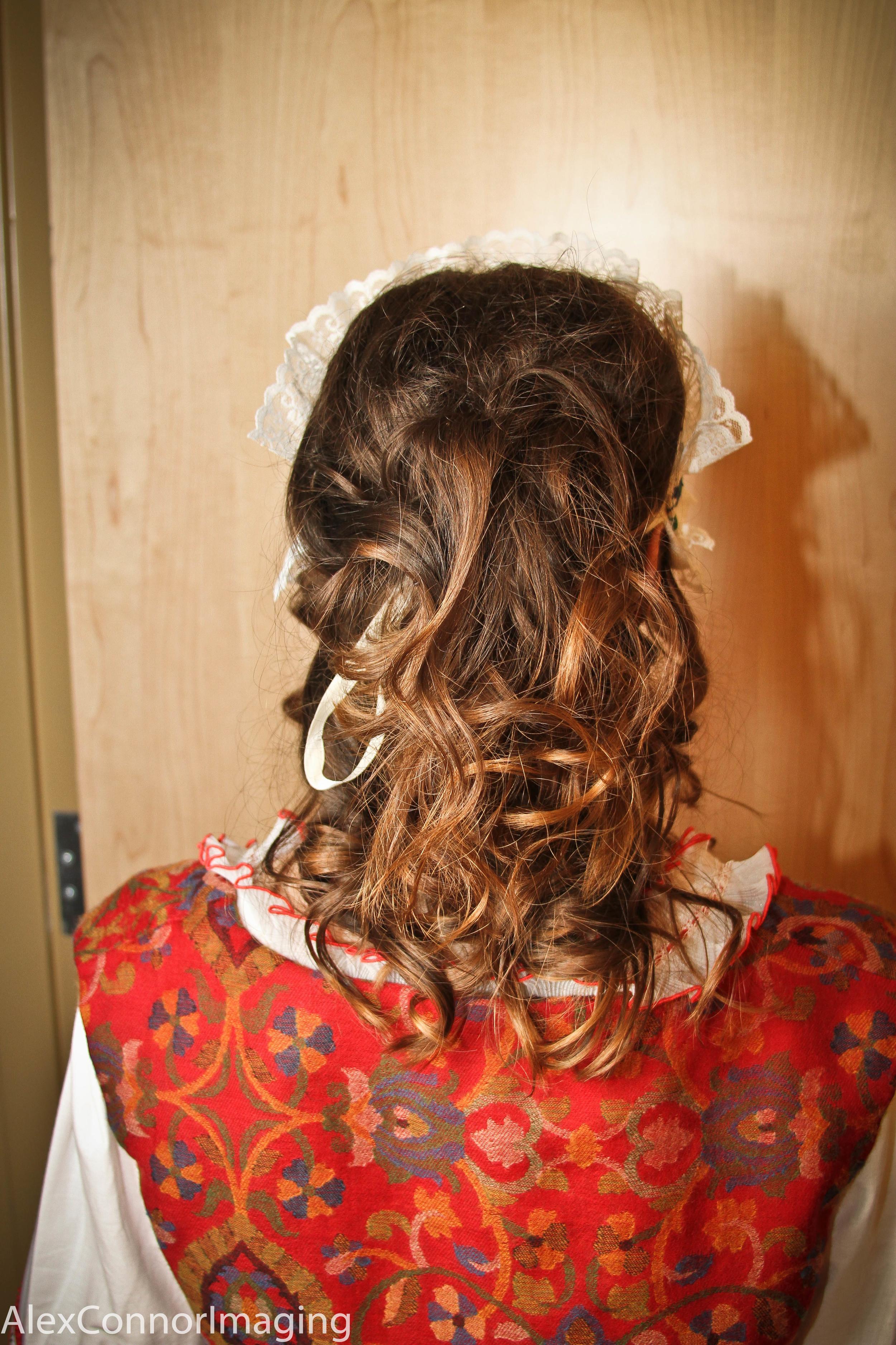 Louka- Act II hair