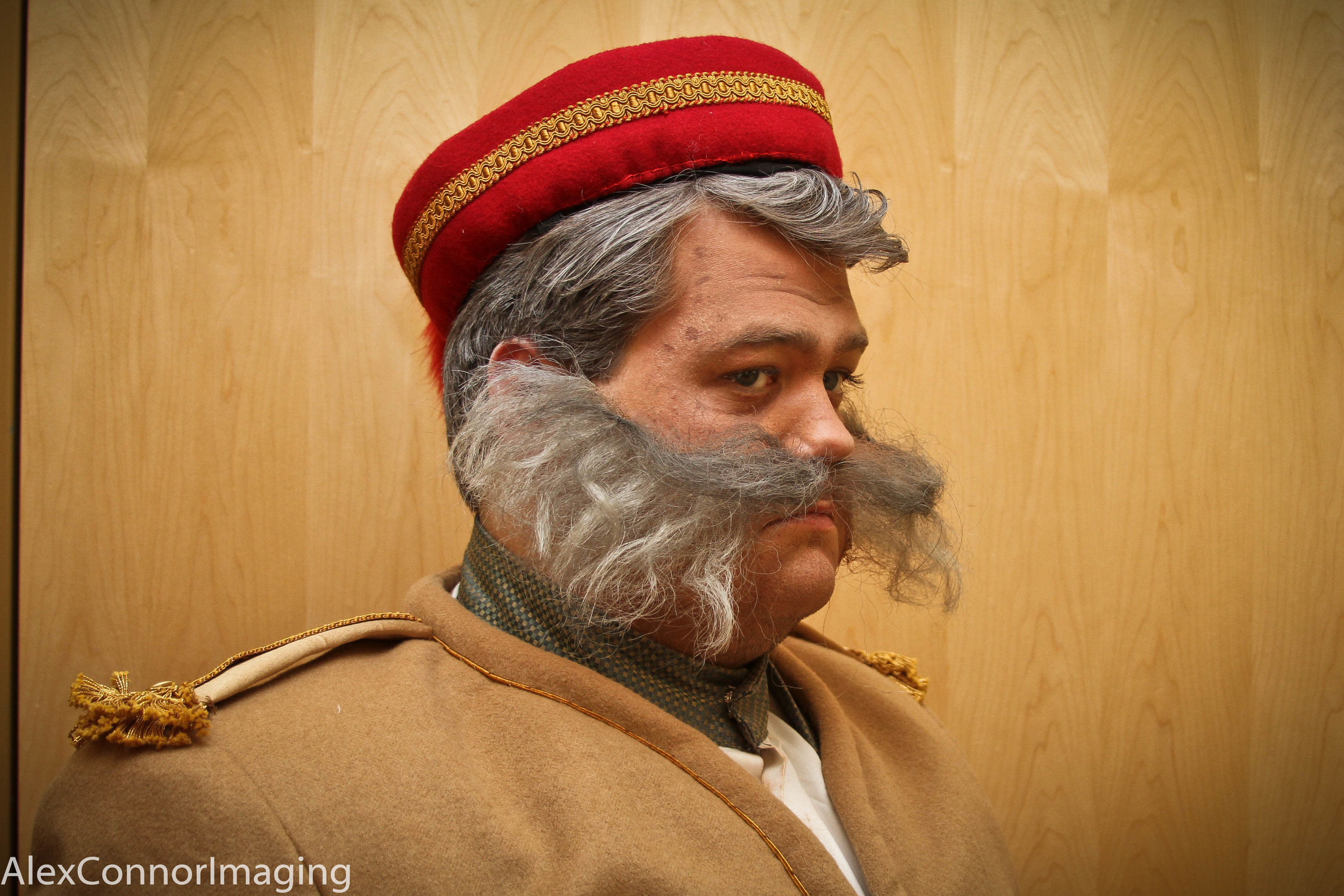 Petkoff- completed ventilated facial hair