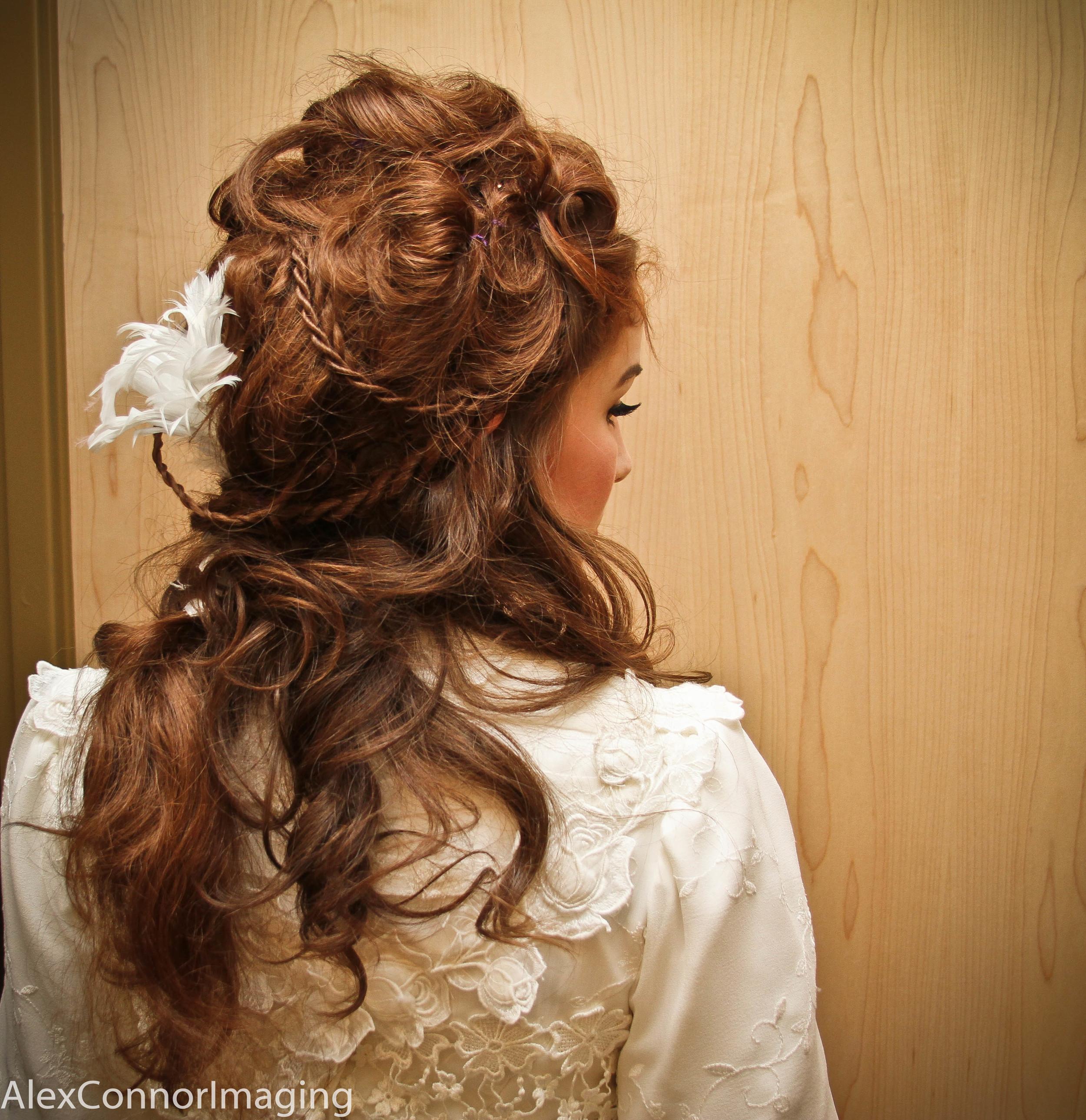 Raina- completed wig