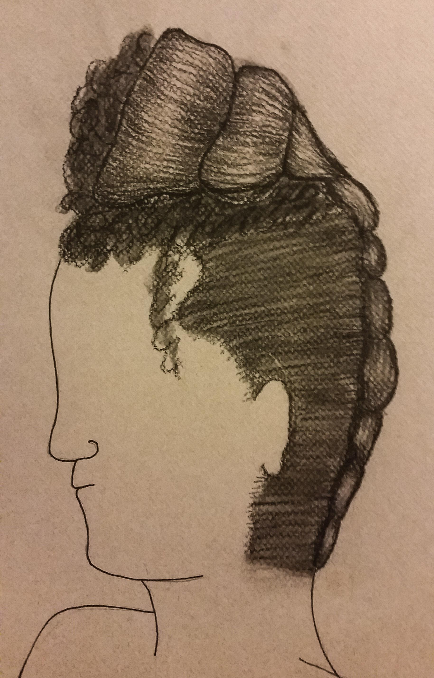 Catherine Petkoff- Act II hair design