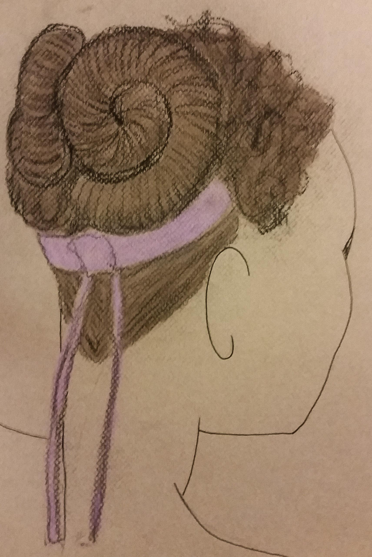Louka- Act II hair design