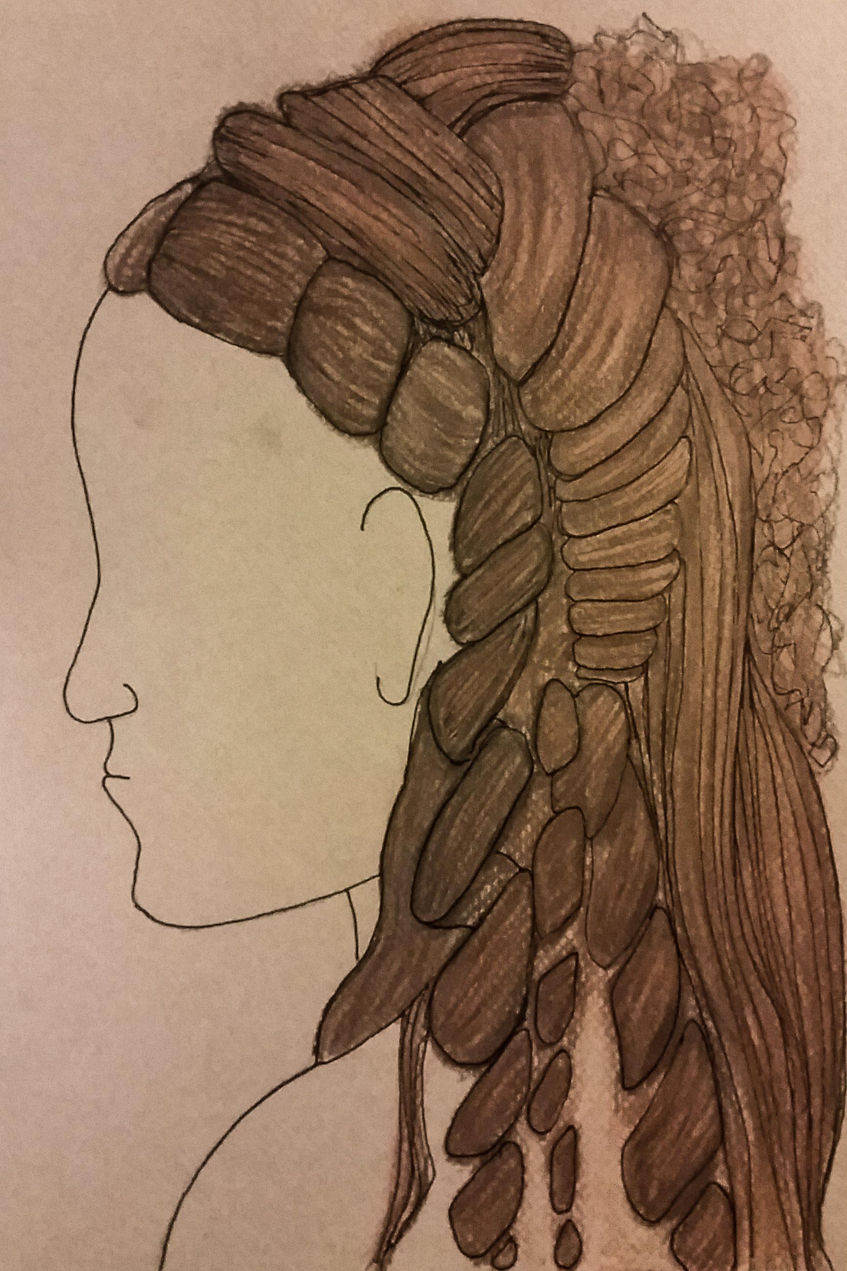 Raina- wig design