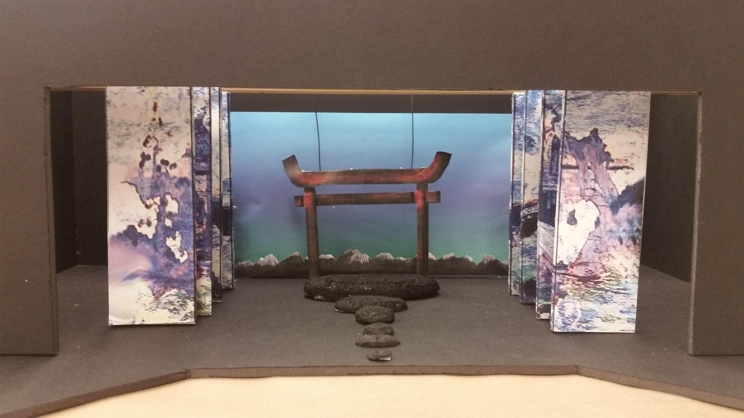 Model Mikado Entrance