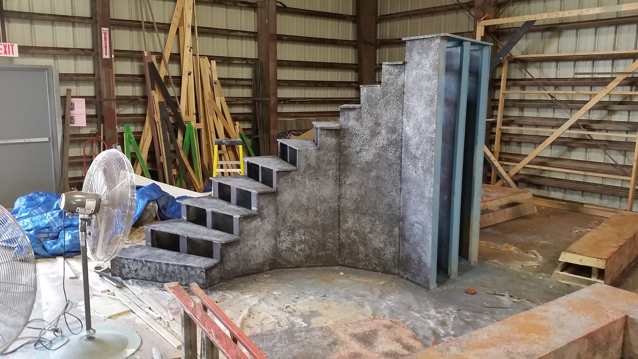 Staircase In Progress