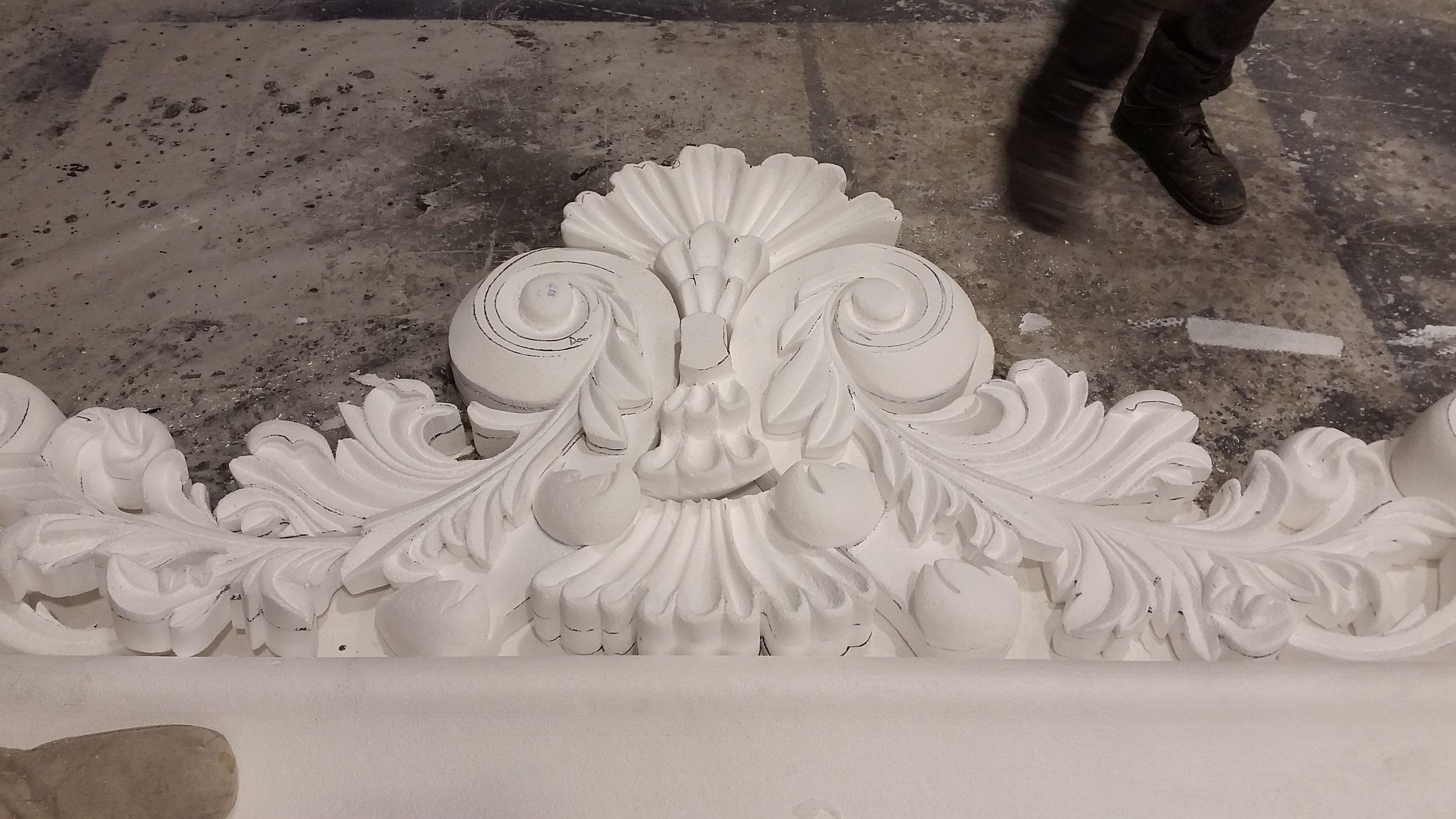 Door Detail In Progress