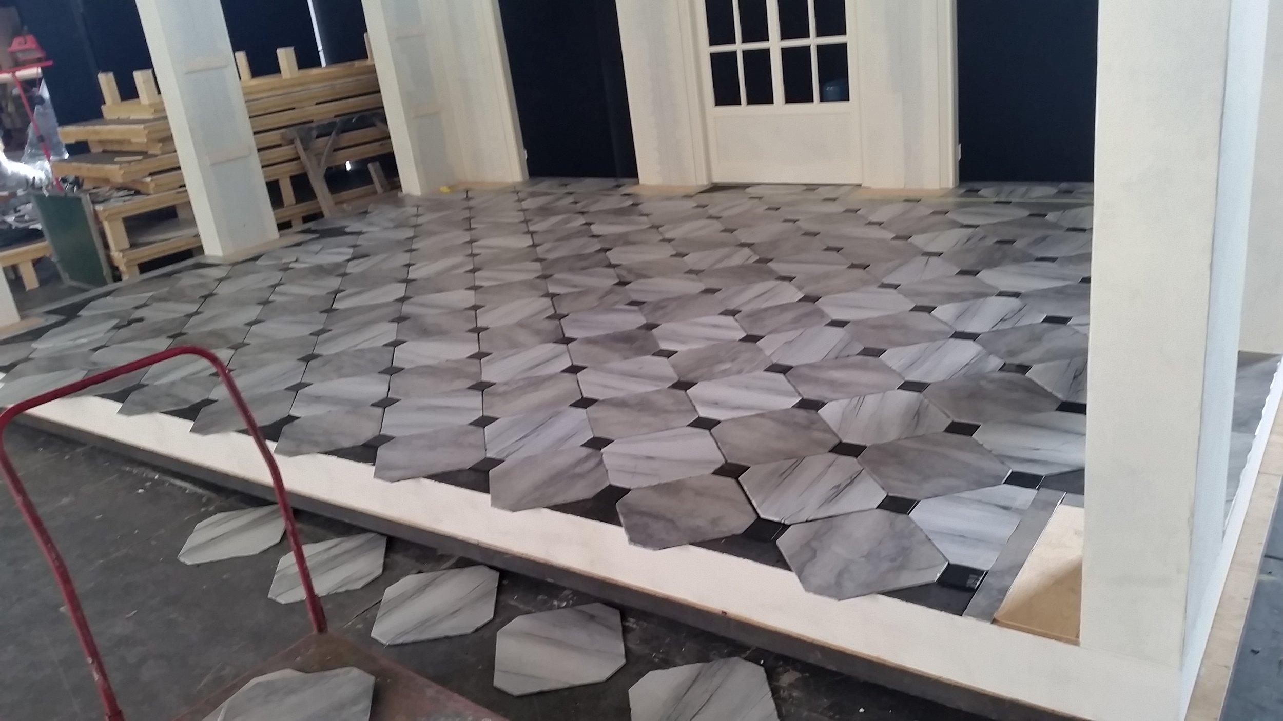 Music Room Marble In Progress