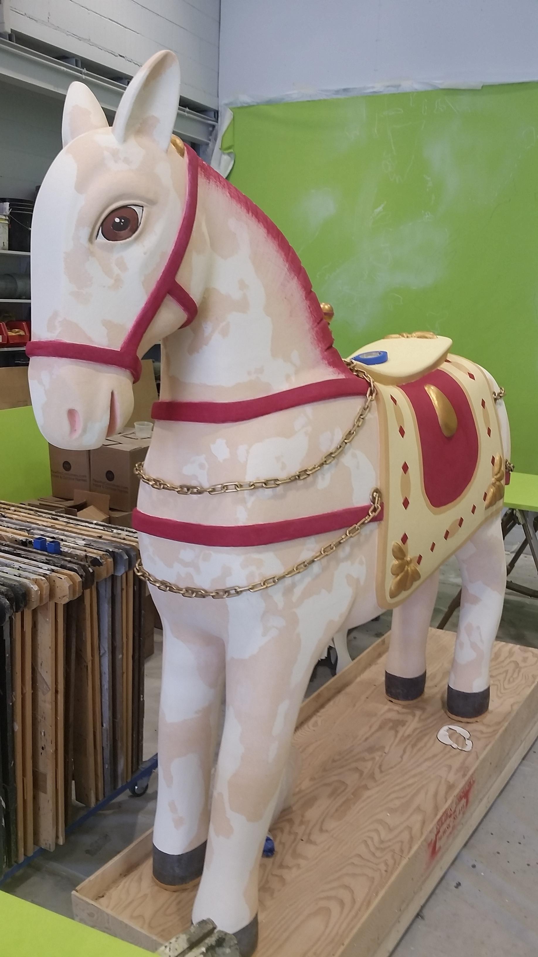 War Hobby Horse Before Repaint